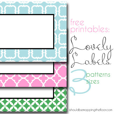 Printable, Ready-made Book Basket Labels To Help You Organize