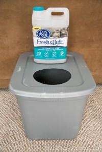 The Original DIY Mess Free Cat Litter Box - Living Well Mom