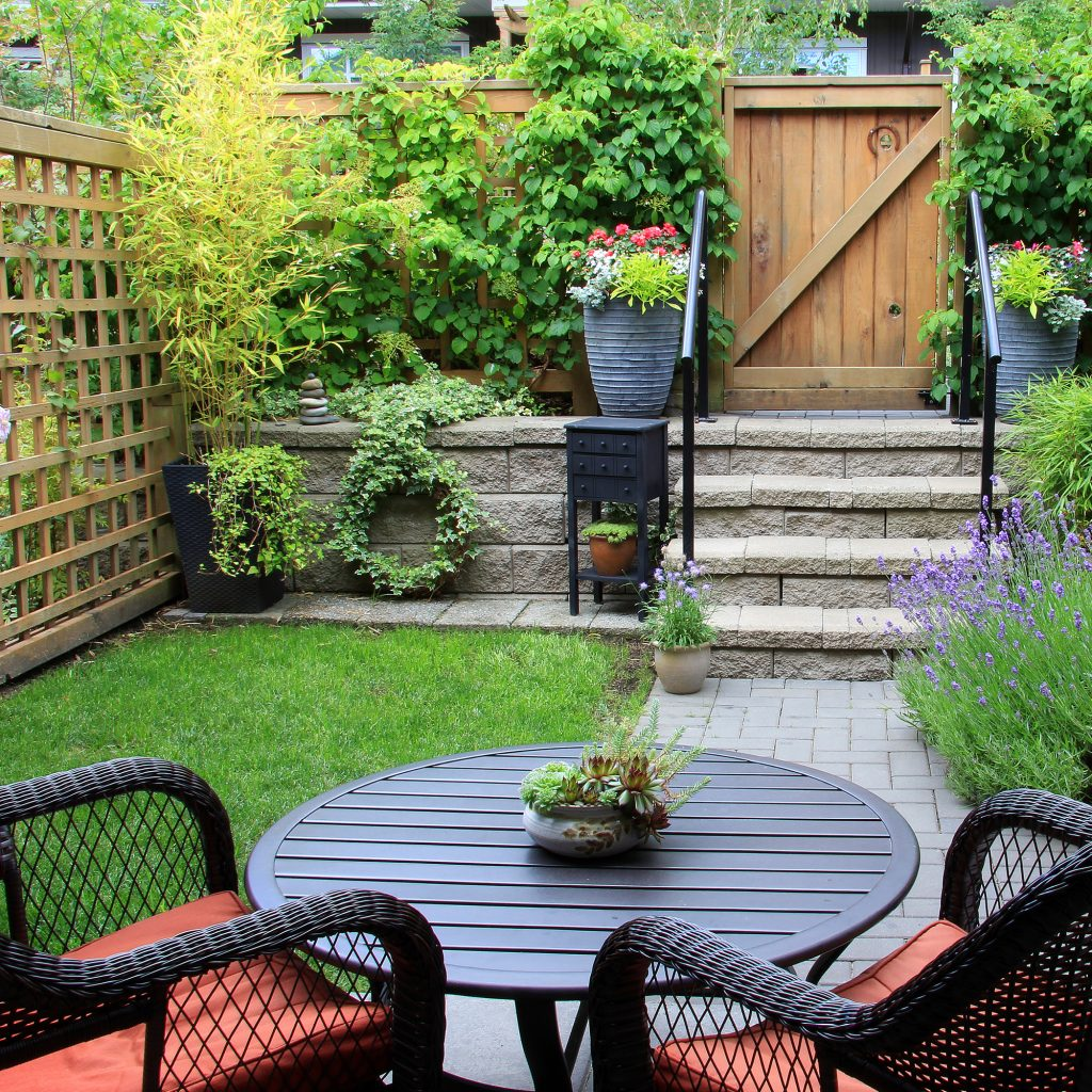 Backyard Clean Up Spruce Up Your Yard And Patio Living Well Spending Less