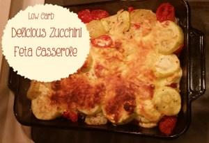 Zucchini Feta Casserole Recipe