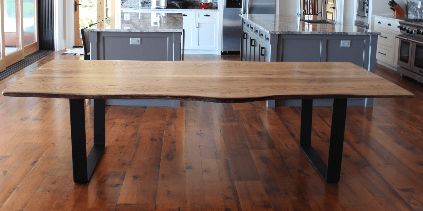 Modern Dining Table Toronto Design Furniture Toronto Ontario Reclaimed Wood