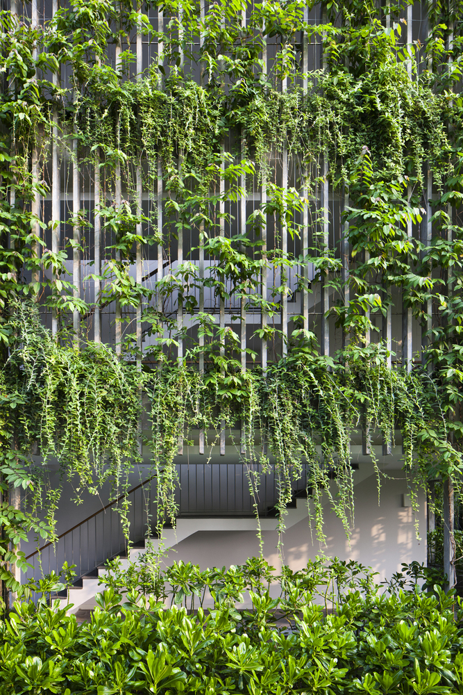 Spathiphyllum Wallisii A Green Oasis: The Babylon By Vo Trong Nghia Architects