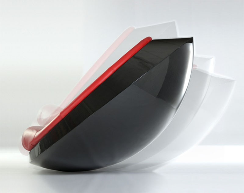 Rocking Saucer Ufo Unidentified Furniture Object