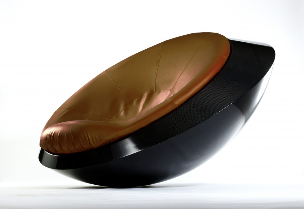 Ufo Sessel Rocking Saucer: Ufo (unidentified Furniture Object