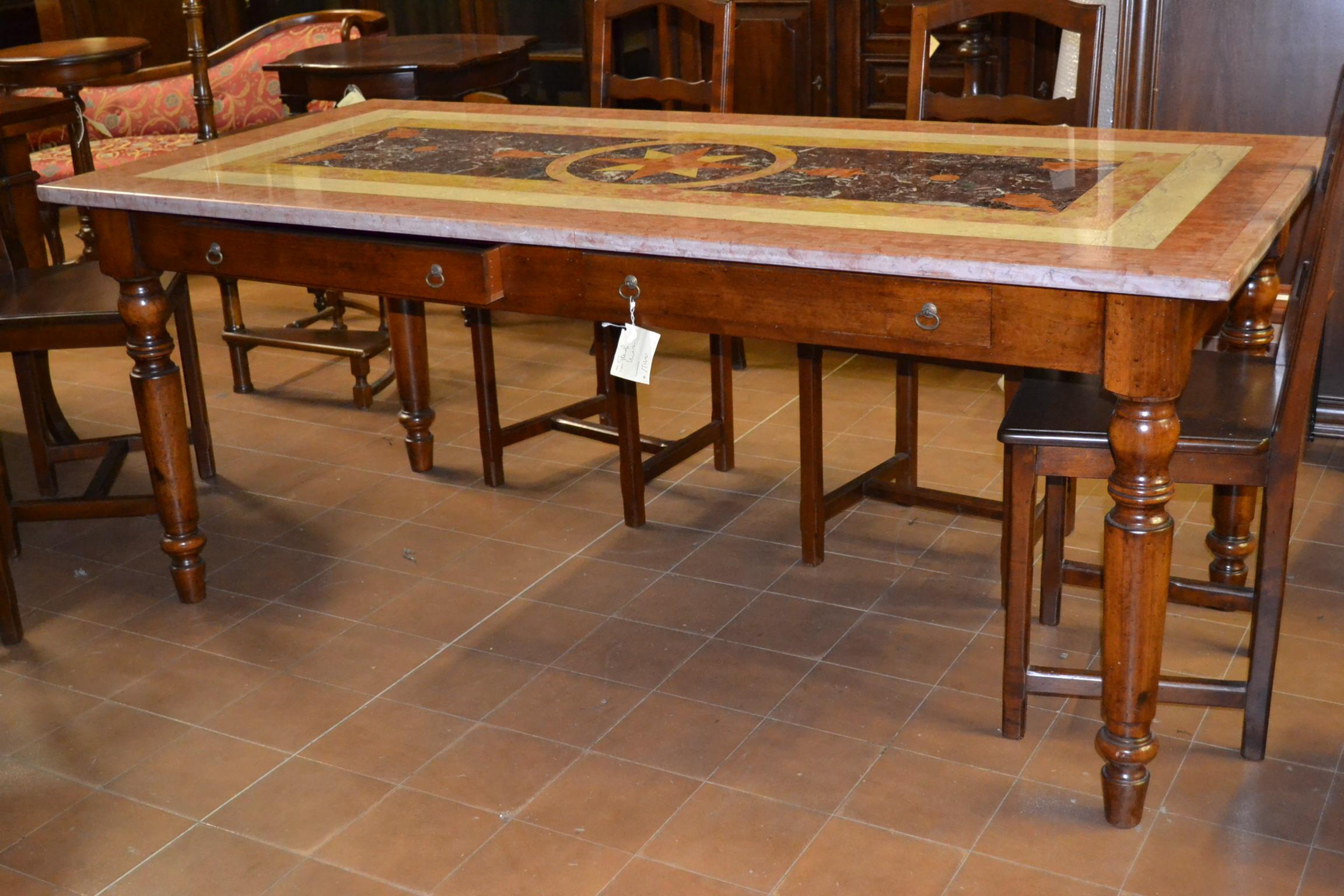 Tavolo Da Pranzo Noce | Tavoli Da Pranzo Allungabili Con Sedie ...