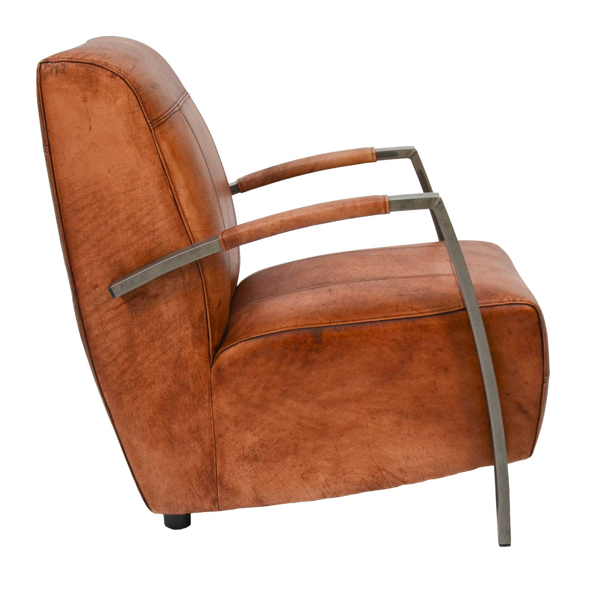 Lounge Sessel Leder Cognac Lounge Sessel King Livior Möbel Im Industrie Design