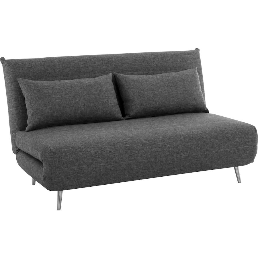 Bettsofa Livique Bettsofa Uetliberg Stoff Anthrazit B 146 T 88 H 82 Cm Livique