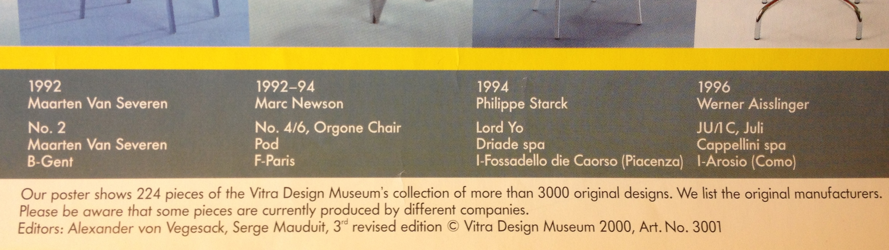 Vitra Chair Poster Vitrahaus Displaying Design For Sale Implications For