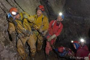 Tassie cave rescue exercise