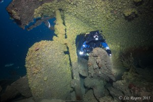 Wreck diving the Wareatea