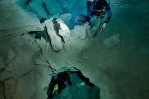 Bathtub in Warbla Cave
