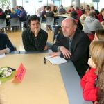 Speed-Dating-Runde Demokratie