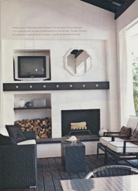 Fireplaces with Wood Storage | L.Kae Interiors