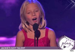 "little girl won the YouTube vote and landed on "" America's Got Talent"
