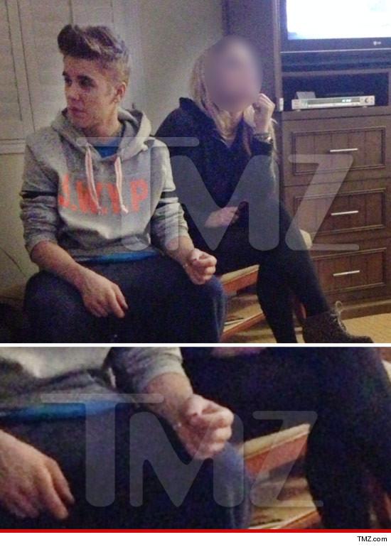 Justin Bieber smoking pot?
