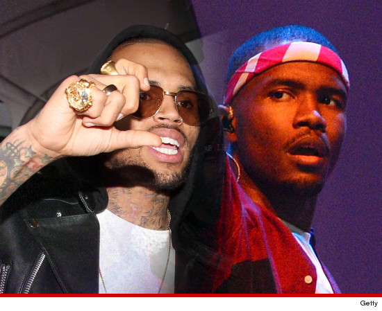 Chris Brown was involved in a fight with Frank Ocean