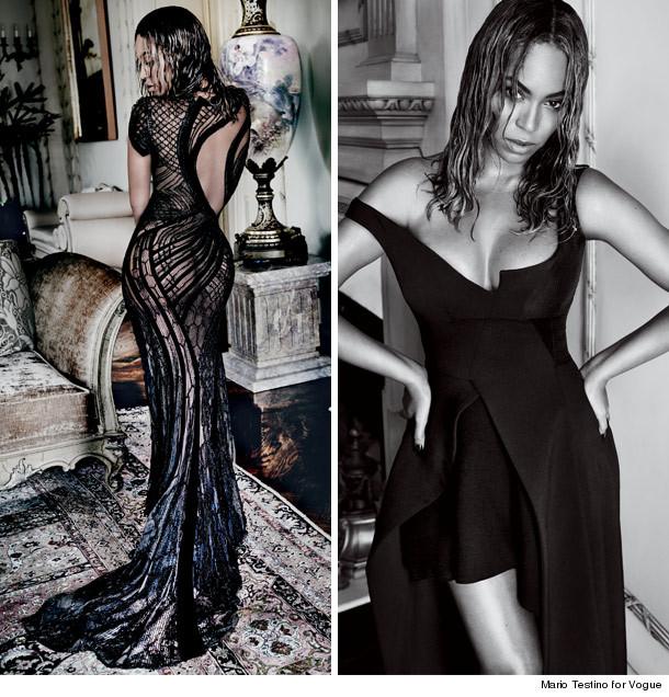 Foto-foto Beyonce Pamer Bokong Seksi Dalam Pemotretan