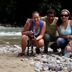 Lorena Acero, Henry Gamba y Sandra-Rojas