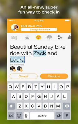 Swarm for iPhone