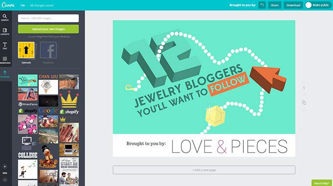Making Slide Share Presentation For Online Store