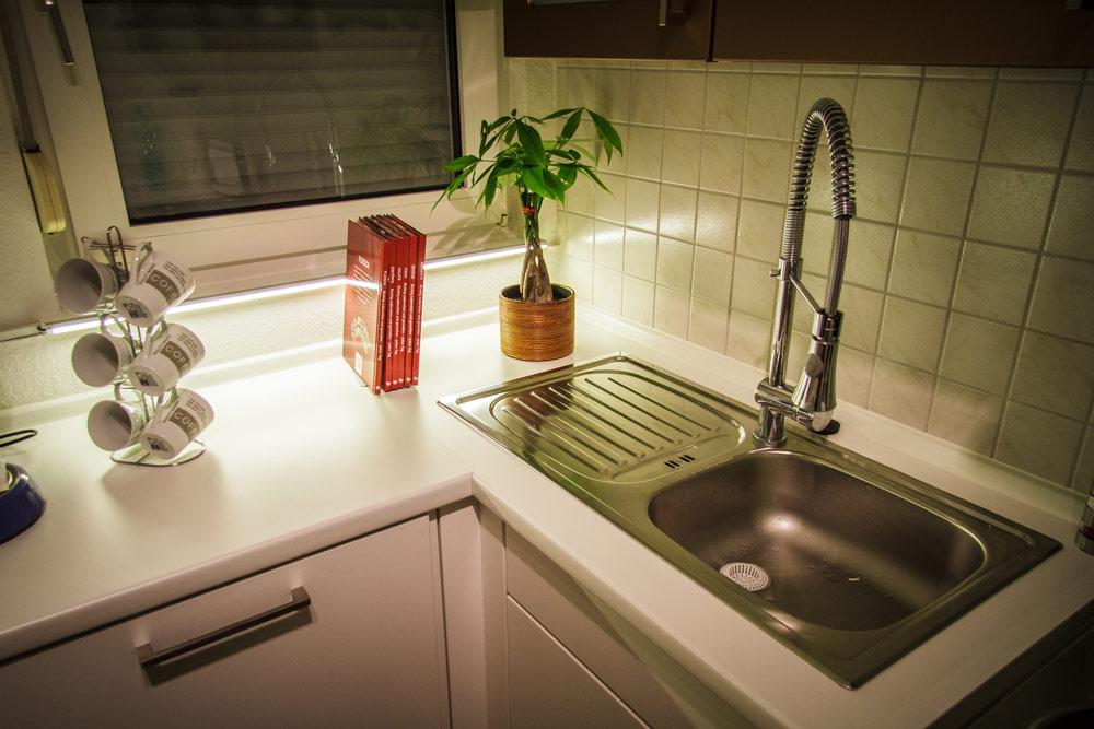 Küche Beleuchtung Arbeitsplatte | Beleuchtung Arbeitsplatte Küche ...
