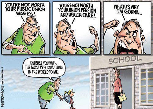 Political cartoon on education cuts \u2013 Motley News, Photos and Fun