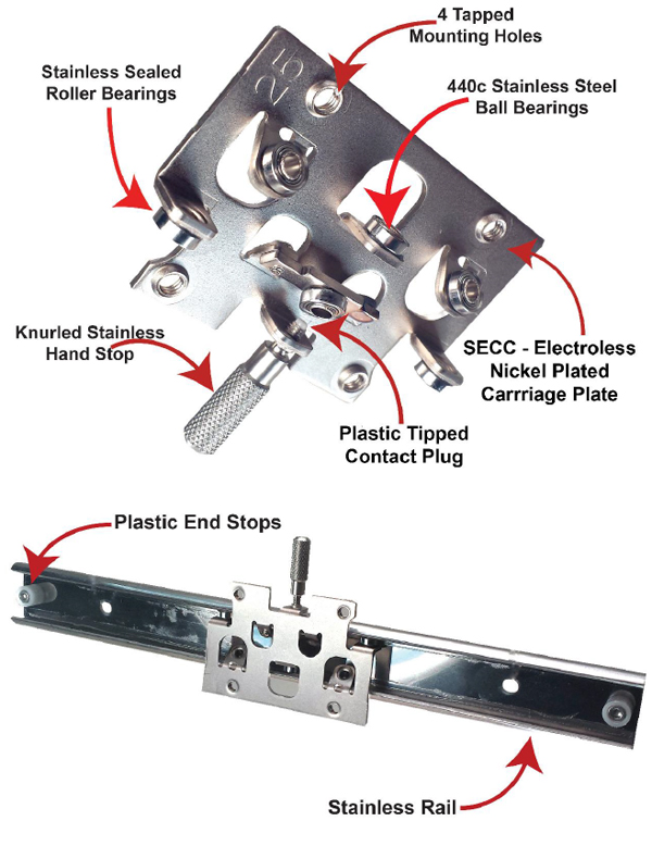 Linear Motion Low Cost Slide System