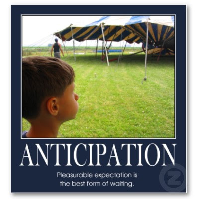 anticipation in a novel | El Space–The Blog of L. Marie