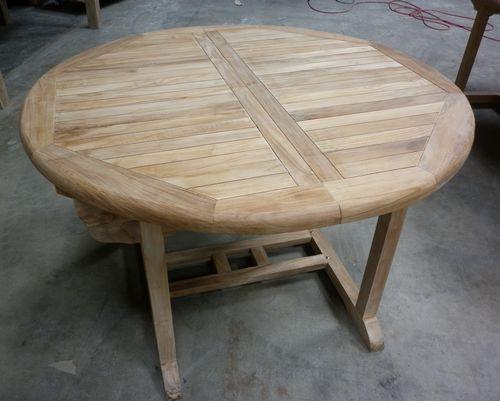 Table Jardin Ronde Teck