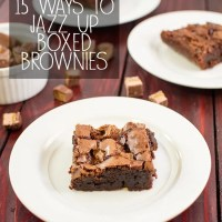 15 ways to Jazz Up Boxed Brownies