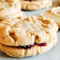 PB & J Cookies