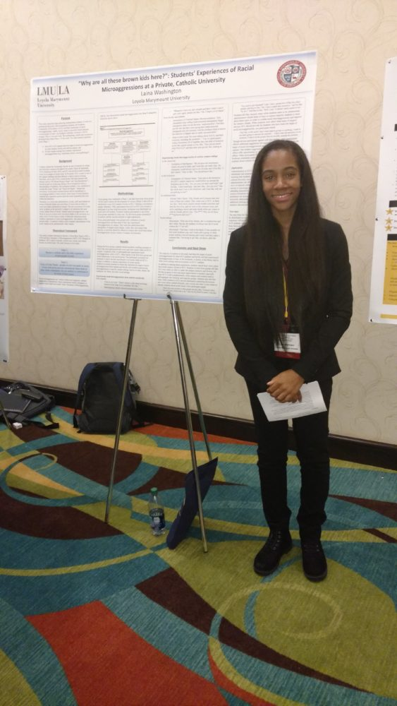Arte Junior Science Lmu Students Present At Black Doctoral Network Conference Lmu