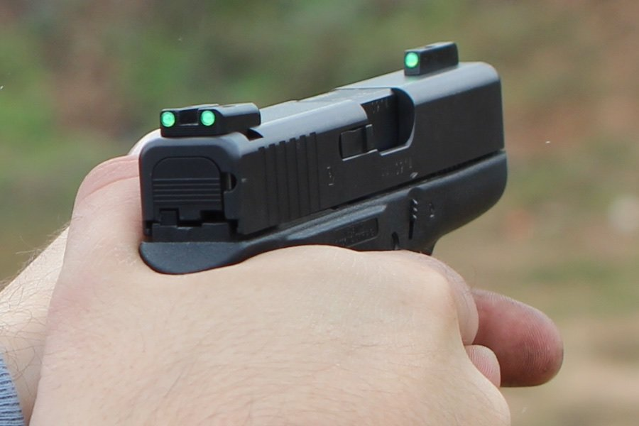 Walther Pistol Police Product Test: Truglo Tfx Tritium/fiber Optic Sights