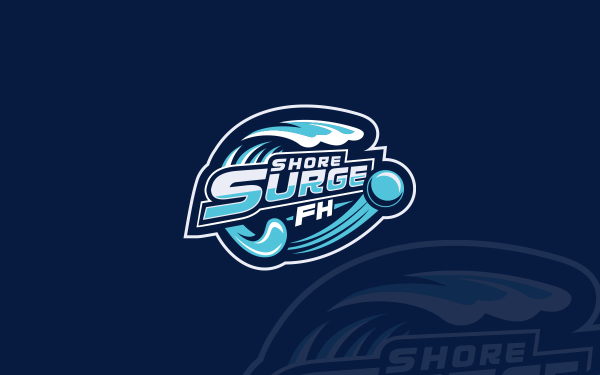 Hockey Logos Shore Surge Field Hockey Custom Logo Custom Field Hockey Logo