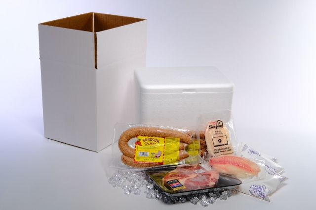 Loboy Shipping Cooler 201 Insulated Shipper Box Kit 115