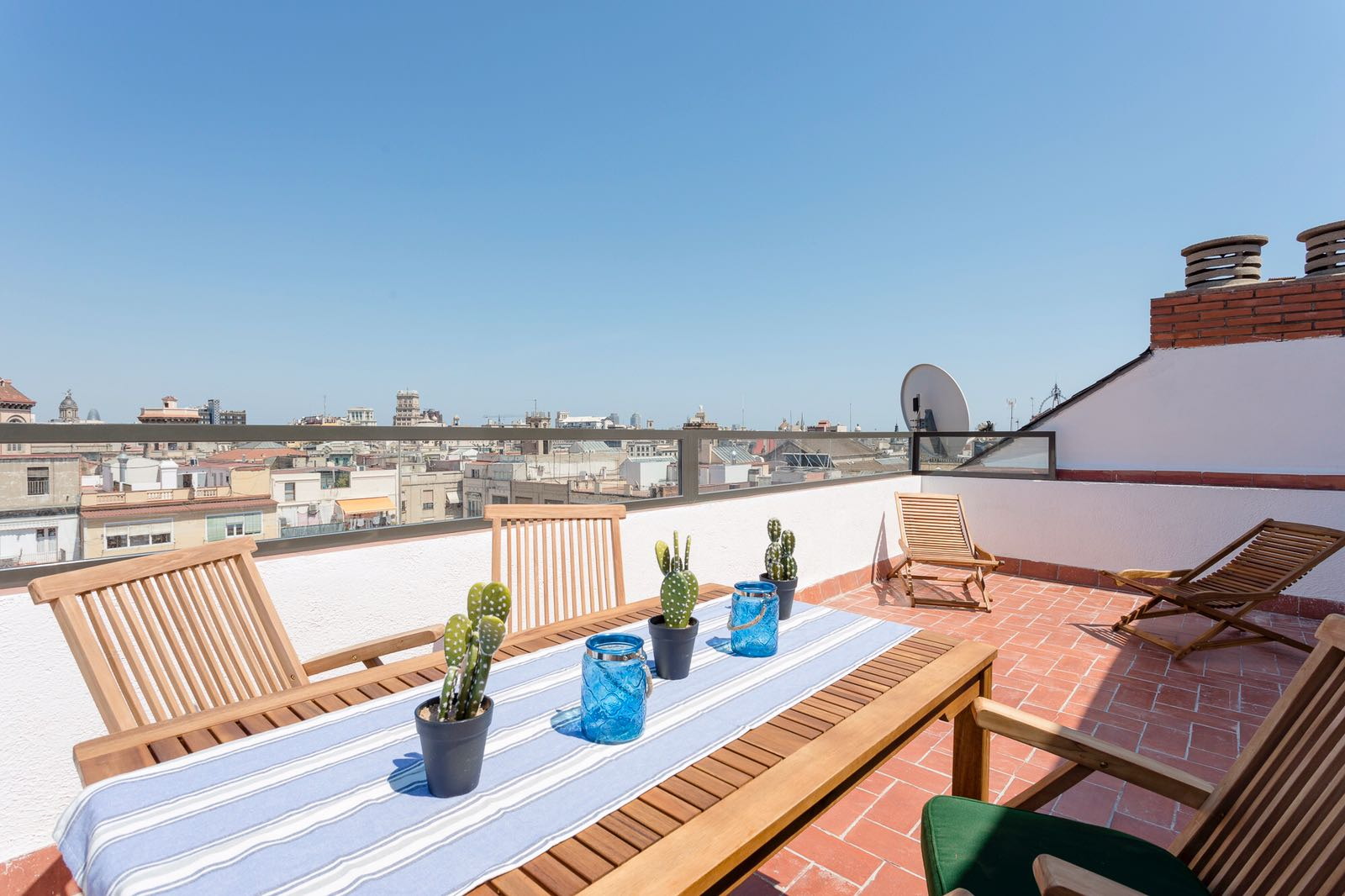 Terrasse Privative Atico Avec Terrasse Privative Calle Aribau Locabarcelona