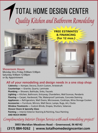 Home Design Remodeling Quality Kitchen And Bathroom Remodeling Total Home Design Center
