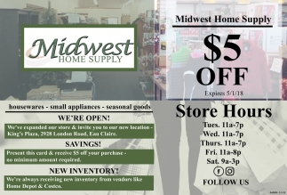 Midwest Home Supply, Midwest Home Supply