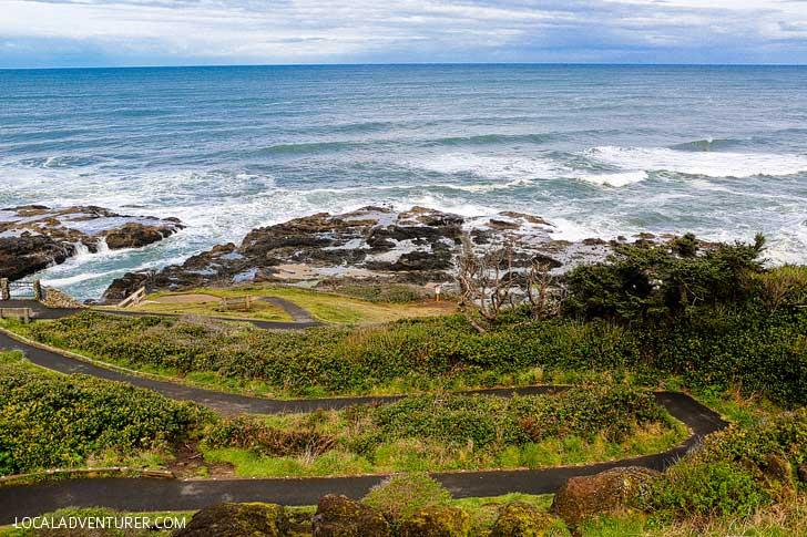 Guide to Thor\u0027s Well Cape Perpetua Scenic Area Oregon Coast