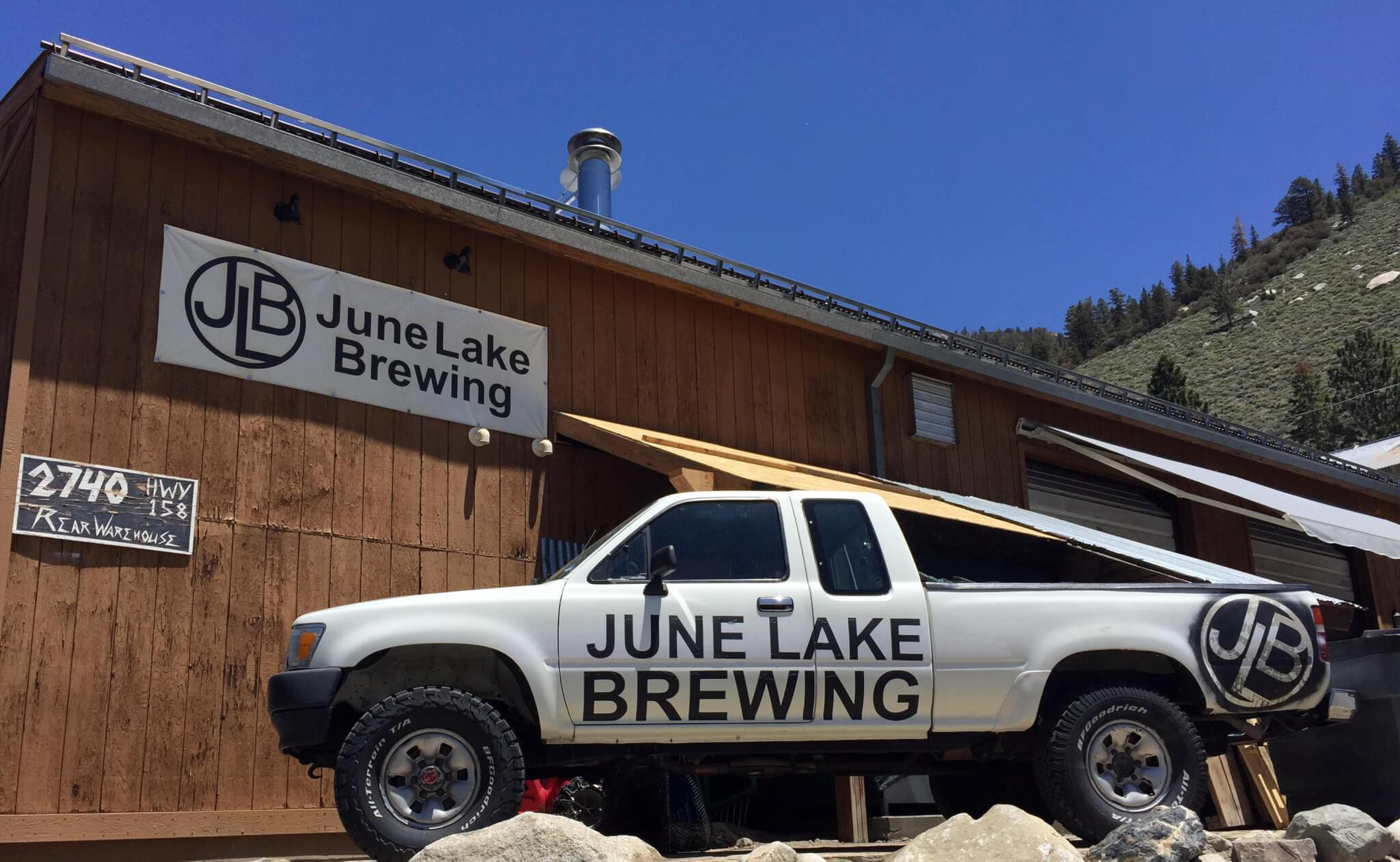 Garage Brewing Truck The Man Behind June Lake Brewing And Of Course Amazing Beer