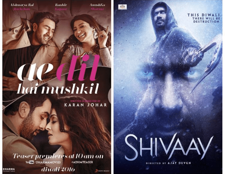 Day 5 Box Office Collection of Shivaay - The Movie Lags Behind ADHM