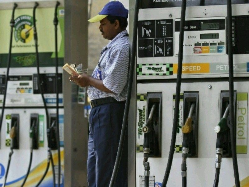 Petrol hiked by Rs 3.38/litre, diesel by Rs 2.67