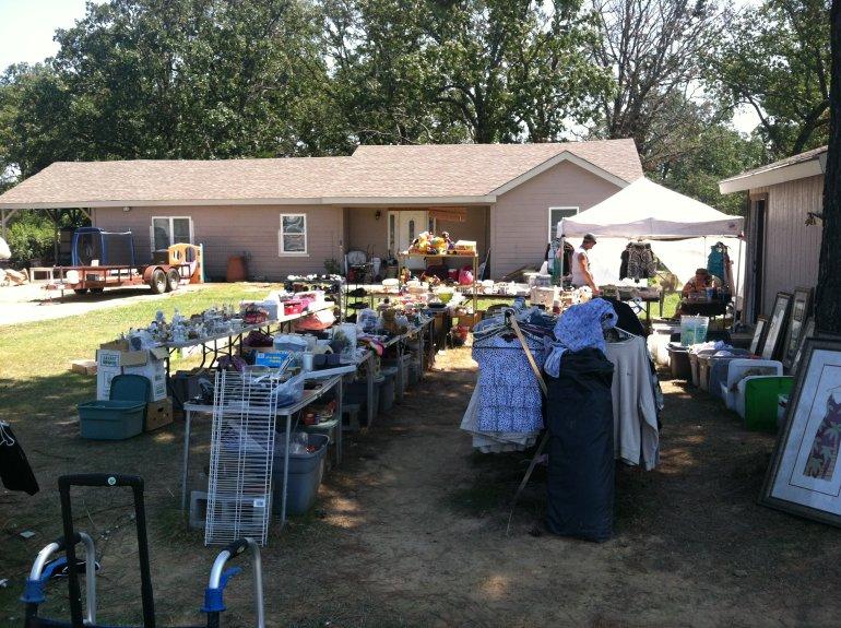 Huge Yard Sale Starts Thursday In River Valley Fort