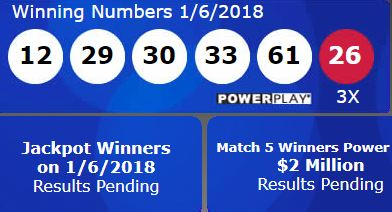 Powerball Winning Numbers: 12, 29, 30, 33, 61 And Powerball 26 | Fort Smith/Fayetteville News ...