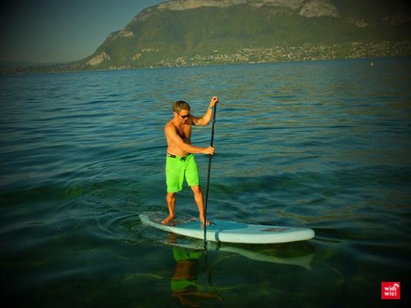 beau temps lac annecy Toussaint
