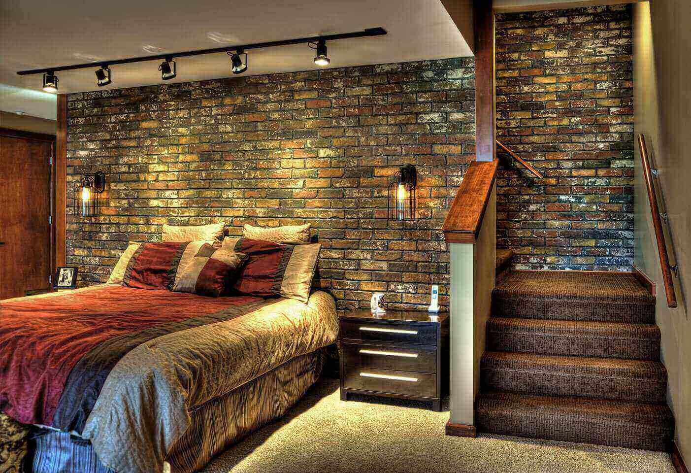 Faux Brick Interior Wall Faux Brick Flooring Finish Loccie Better Homes Gardens Ideas