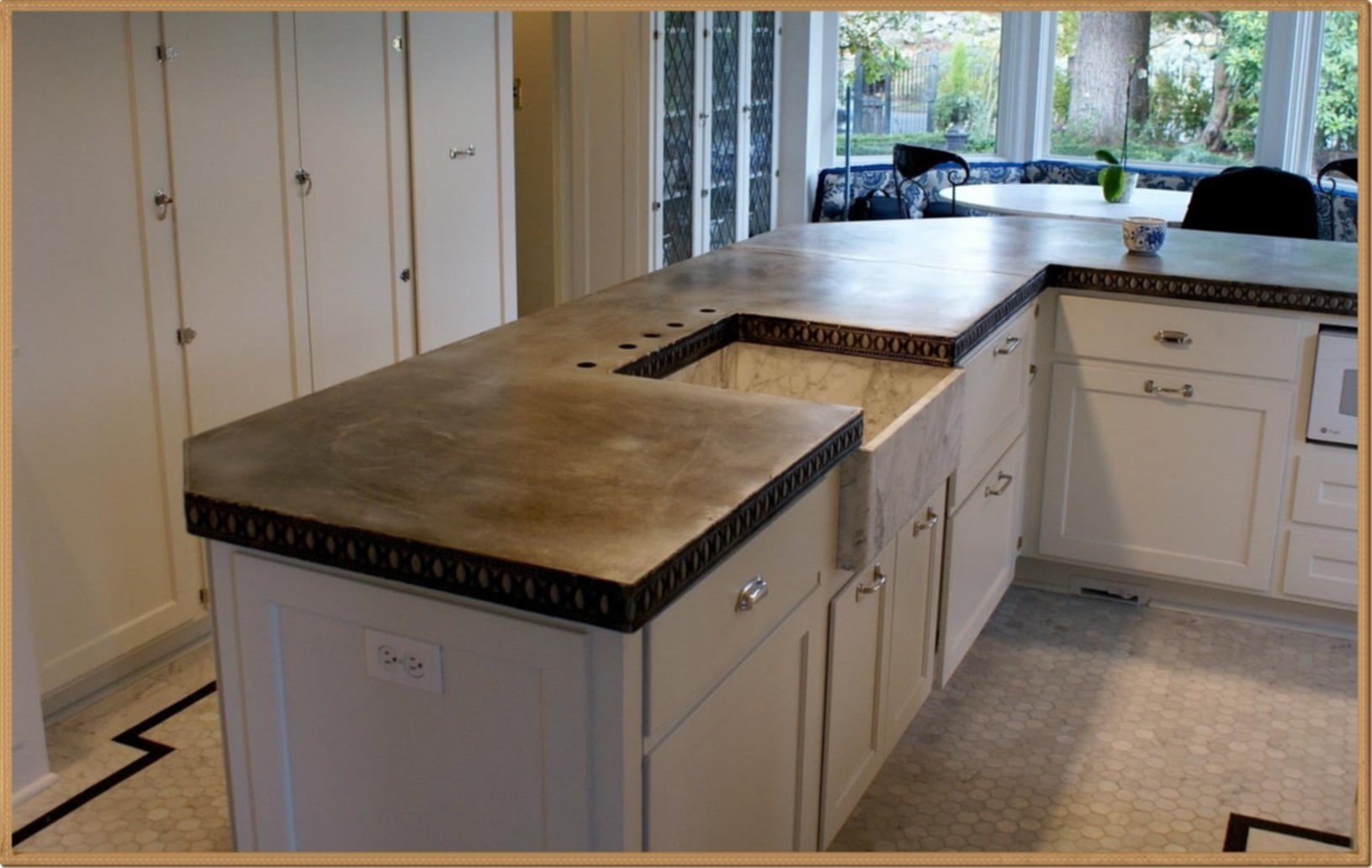 How To Clean Zinc Countertops Diy Zinc Countertops Loccie Better Homes Gardens Ideas
