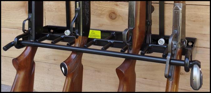 Locking Gun Racks Vertical Wall Mountlocking Gun Racks