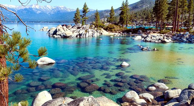 Fall Mountain Lake Wallpaper Lake Tahoe Vacation Rentals Lake Tahoe Resorts Lake