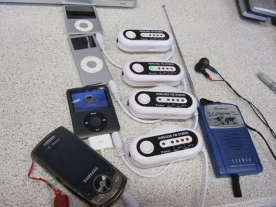 Radio, FM transmitters and iPods